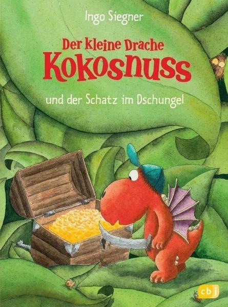 Gebundenes Buch »Der kleine Drache Kokosnuss und der Schatz im...«