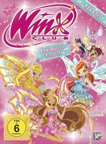 DVD »The Winx Club - 3. Staffel, Komplettbox (4 DVDs)«