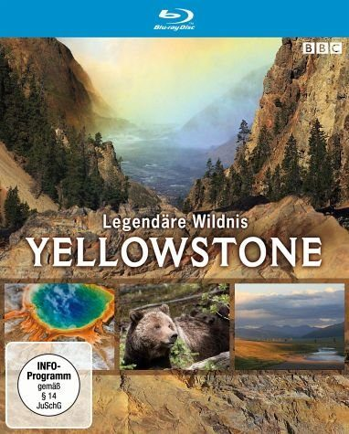 Blu-ray »Yellowstone - Legendäre Wildnis«