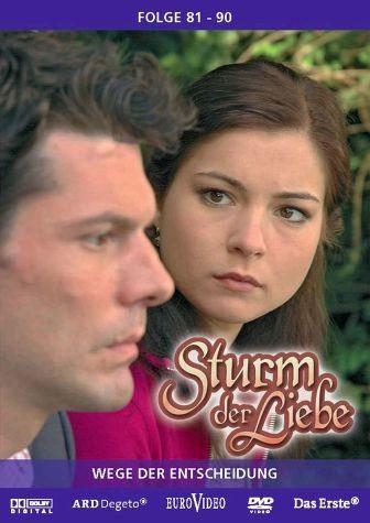 DVD »Sturm der Liebe - Folge 081-90: Wege der...«