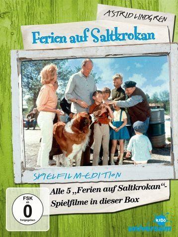 DVD »Ferien auf Saltkrokan - Teil 1-5 (5 DVDs)«