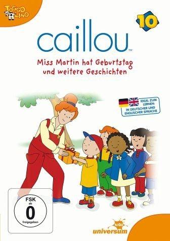 DVD »Caillou 10 - Miss Martin hat Geburtstag und...«