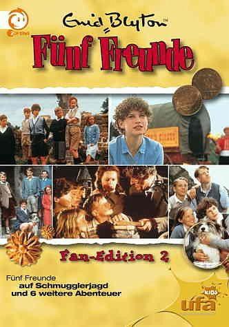DVD »Enid Blyton - Fünf Freunde-Box 2 (5 DVDs)«