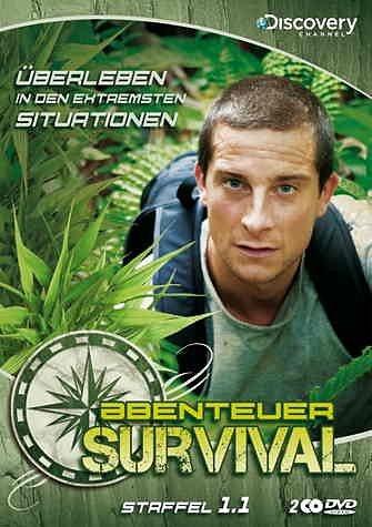 DVD »Abenteuer Survival - Staffel 1.1 (2 DVDs)«