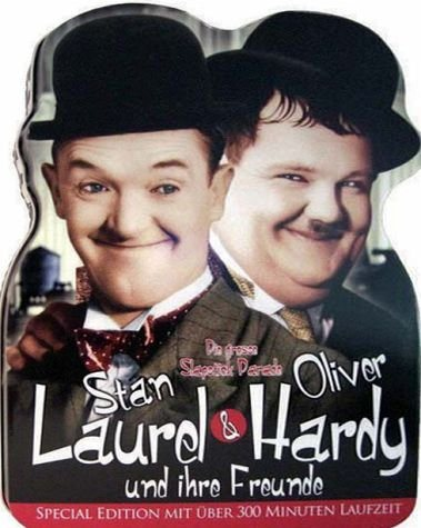DVD »Stan Laurel & Oliver Hardy (Metal Box)«