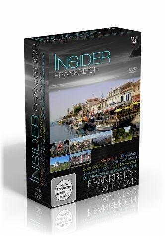 DVD »Insider Frankreich, 7 DVDs«