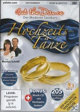 DVD »Get the Dance - Der moderne Tanzkurs -...«