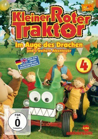 DVD »Kleiner roter Traktor 04 - Im Auge des Drachen...«
