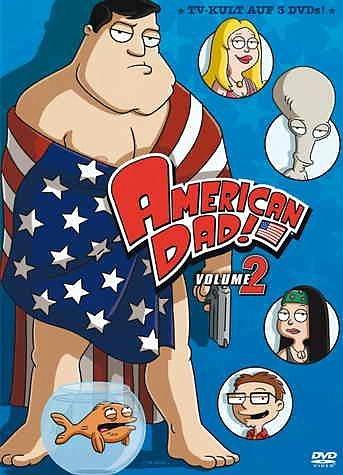 DVD »American Dad - Season 2 (3 DVDs)«