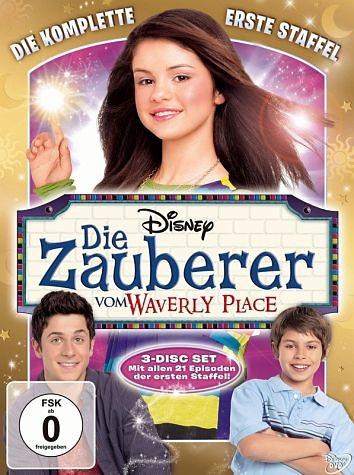 DVD »Die Zauberer vom Waverly Place - Die komplette...«