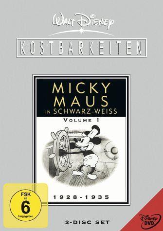 DVD »Micky Maus in schwarz-weiß - Volume 1:...«