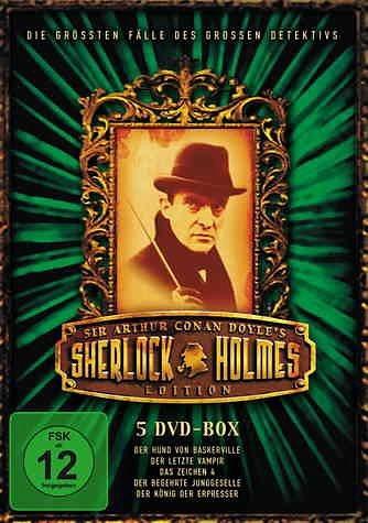 DVD »Sherlock Holmes - 5-DVD-Box (5 DVDs)«