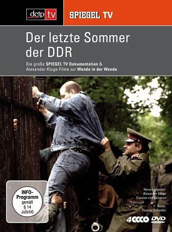 DVD »Spiegel TV - Der letzte Sommer der DDR (4 DVDs)«
