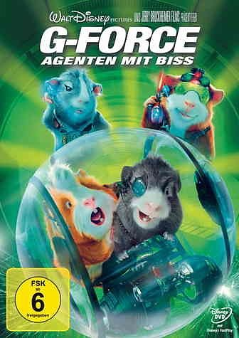 DVD »G-Force - Agenten mit Biss«