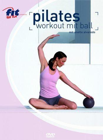 DVD »Pilates Workout mit Ball - mit Anette Alvaredo«