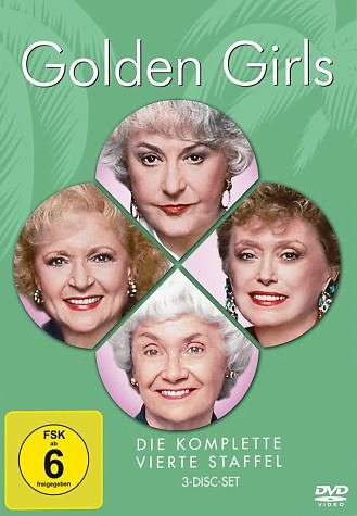 DVD »Golden Girls - Die komplette vierte Staffel (3...«