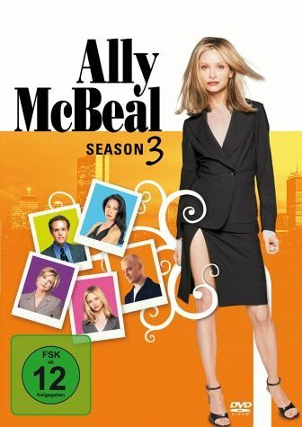 DVD »Ally McBeal: Season 3 (6 DVDs)«