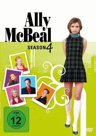 DVD »Ally McBeal: Season 4 (6 DVDs)«