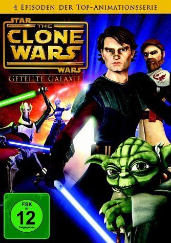 DVD »Star Wars: The Clone Wars - Geteilte Galaxie«
