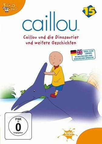 DVD »Caillou 15 - Caillou und die Dinosaurier und...«
