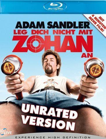 Blu-ray »Leg dich nicht mit Zohan an (Unrated)«