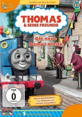 DVD »Thomas und seine Freunde (Folge 22) - Die neue...«