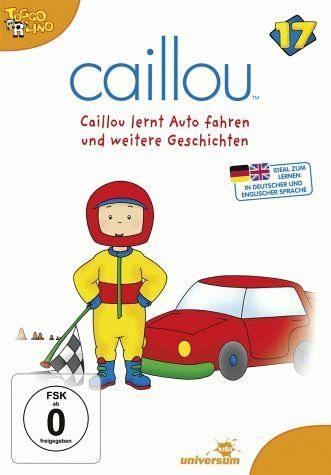 DVD »Caillou 17 - Caillou lernt Auto fahren und...«