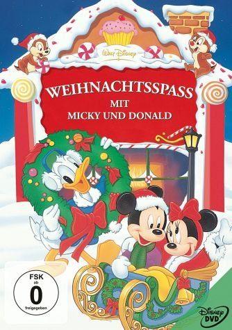 DVD »Weihnachtsspaß mit Micky und Donald«