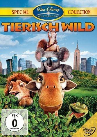 DVD »Tierisch wild, DVD«