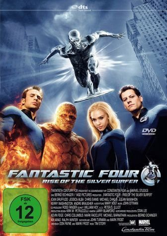 DVD »Fantastic Four - Rise of the Silver Surfer...«