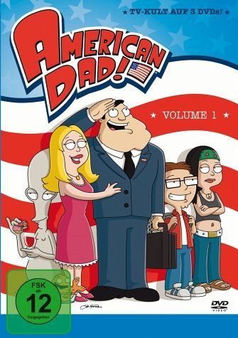 DVD »American Dad - Season 1 (3 DVDs)«