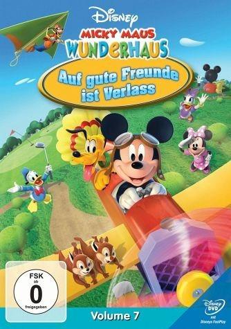 DVD »Micky Maus Wunderhaus, Volume 07 - Auf gute...«