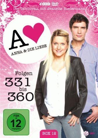 DVD »Anna und die Liebe - Box 12, Folgen 331-360 (4...«