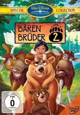 DVD »Bärenbrüder 2, 1 DVD-Video, dtsch. u. engl....«