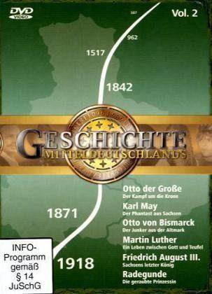 DVD »Geschichte Mitteldeutschlands. Vol.2, 2 DVDs«