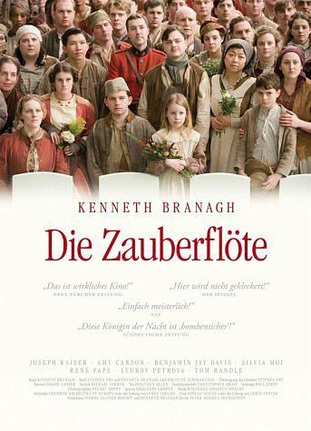 DVD »Kenneth Branagh - Die Zauberflöte (OmU)«