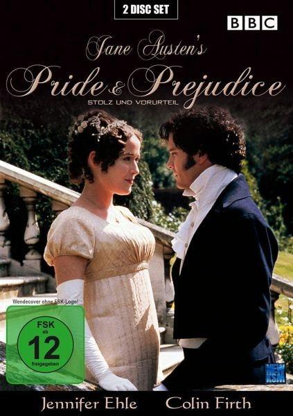 DVD »Jane Austen's Pride & Prejudice, 2 DVDs«