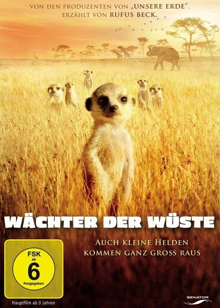 DVD »Wächter der Wüste«