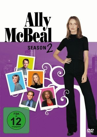DVD »Ally McBeal: Season 2 (6 DVDs)«
