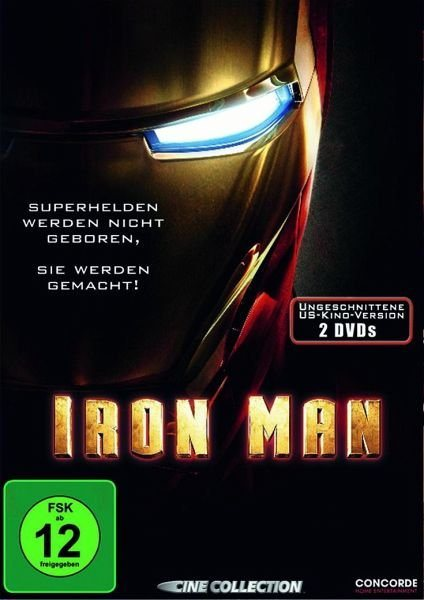 DVD »Iron Man (Uncut US-Version, Special Edition, 2...«