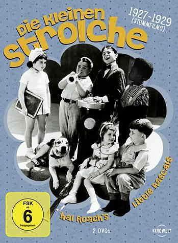 DVD »Die kleinen Strolche: 1927-1929 (Stummfilme)...«