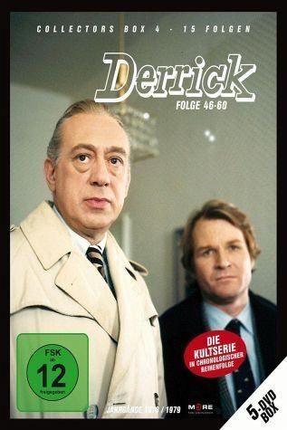 DVD »Derrick - Collector's Box Vol. 04 (Folge...«