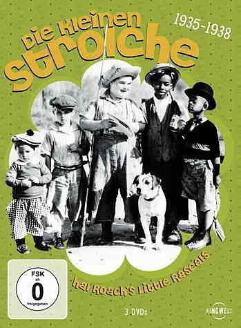 DVD »Die kleinen Strolche: 1935-1938 (3 DVDs)«