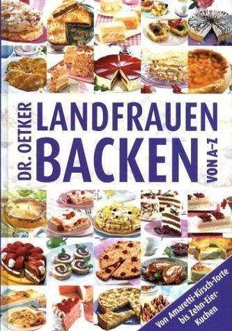 Gebundenes Buch »Landfrauenbacken von A - Z«