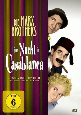 DVD »Die Marx Brothers - Eine Nacht in Casablanca«
