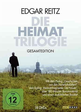 DVD »Die Heimat Trilogie - Gesamtedition (18 DVDs)«