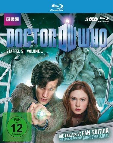 Blu-ray »Doctor Who - Staffel 5, Volume 1 (Fan-Edition,...«