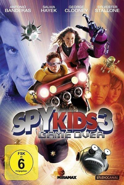 DVD »Spy Kids 3 - Game Over«