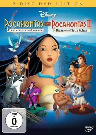 DVD »Pocahontas / Pocahontas 2 - Reise in eine neue...«