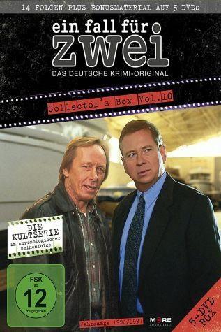 DVD »Ein Fall für Zwei - Collector's Box 10 (5 Discs)«